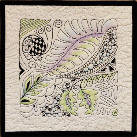 zentangle quilt pattern 48 best zentangle quilting images on pinterest