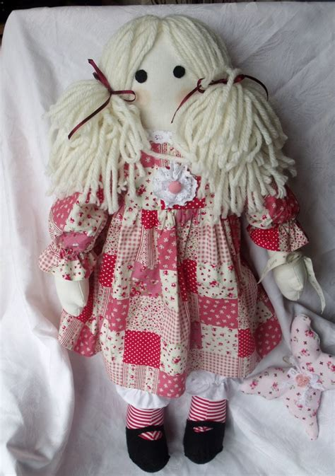 Handmade Cloth Dolls For Sale - rag doll my beautiful isabelle has just on sale at a
