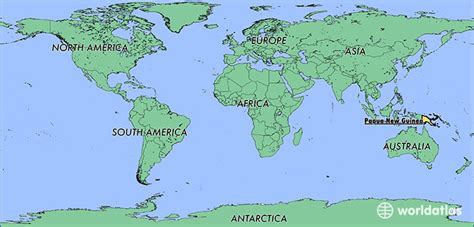 world map papua new guinea where is papua new guinea where is papua new guinea
