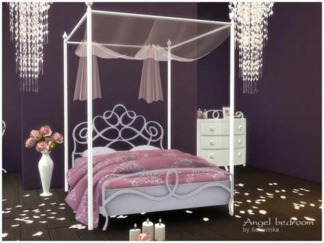 angel bedroom romantic bedroom angel by severinka at tsr 187 sims 4 updates