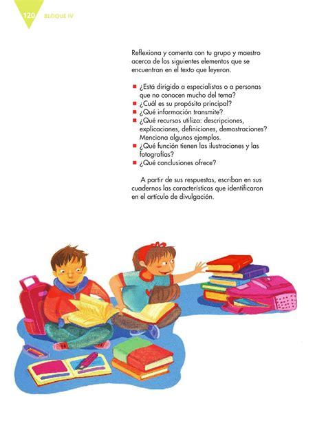 libro de espaol de 5 grado paginas 116 117 y118 espa 241 ol quinto grado 2016 2017 libro de texto online