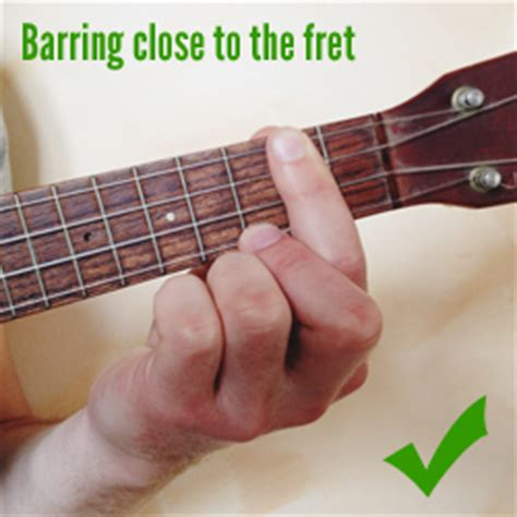 how to get better at bar chords 7 tips to improve your barre chords on ukulele