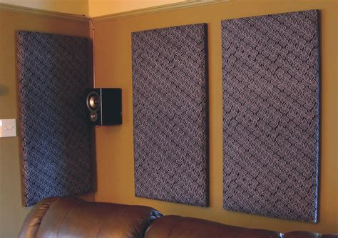 cheap and easy way to soundproof a room how to build your own acoustic panels diy