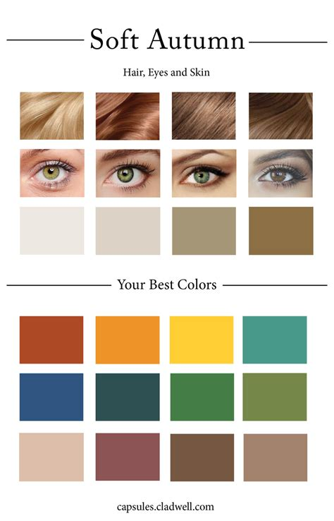 soft autumn color palette how to create your personal color palette plus take our