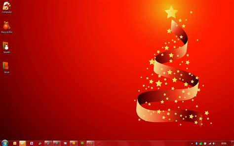 christmas live themes for windows 7 red christmas themes for windows 7 download stealth