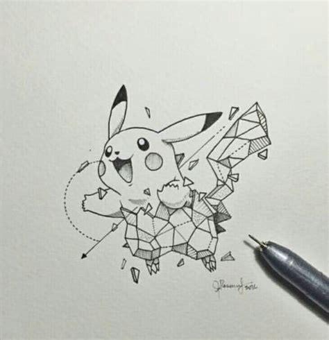 geometric doodle ideas pikachu geometric beasts geometric beast
