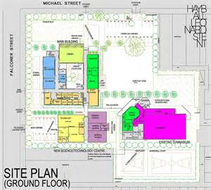 site floor plan fitzroy high school masterplan