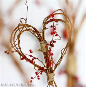 Diy Heart Decorations Ashbee Design Valentine Ideas Diy Twig Heart
