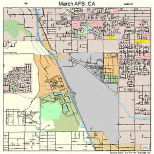 march afb california map 0645680
