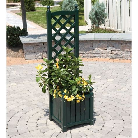 planter with trellis could diy ethyls gardening