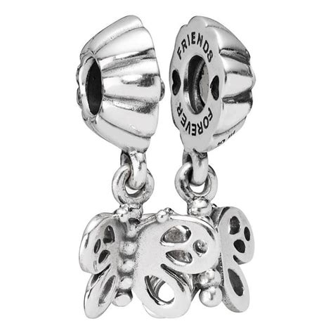 pandora best friend butterfly pendant charm 790531 from