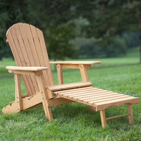 reclining adirondack chair reclining adirondack chair with pull out ottoman in
