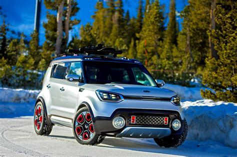 4wd Kia Soul Photos Kia Soul 4wd Hybrid Trailster Concept 2016 From