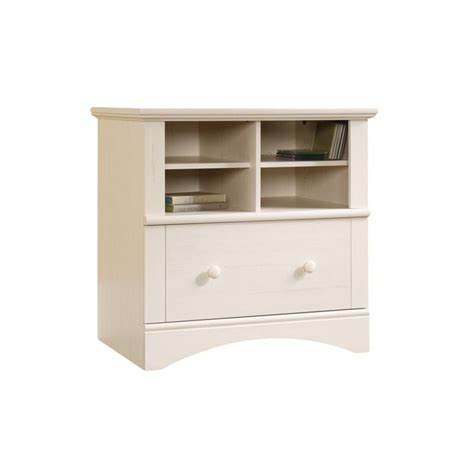2 drawer lateral file cabinet white 1 drawer lateral wood file cabinet in antique white 158002