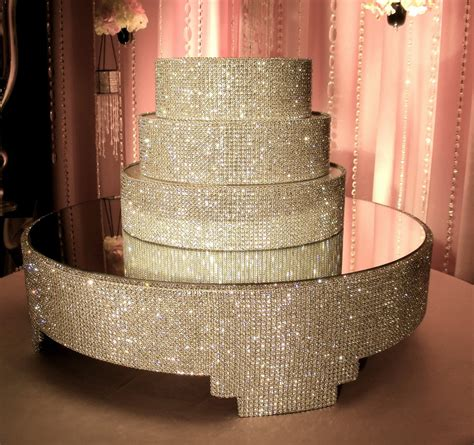 Ring Stand Water Glitter cake stand and separators package