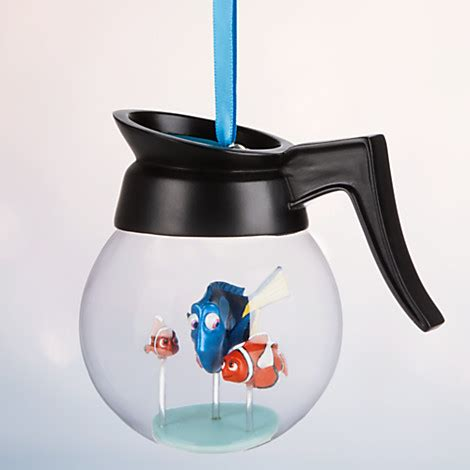 ornement set finding dory just keep swimming with finding dory ornaments