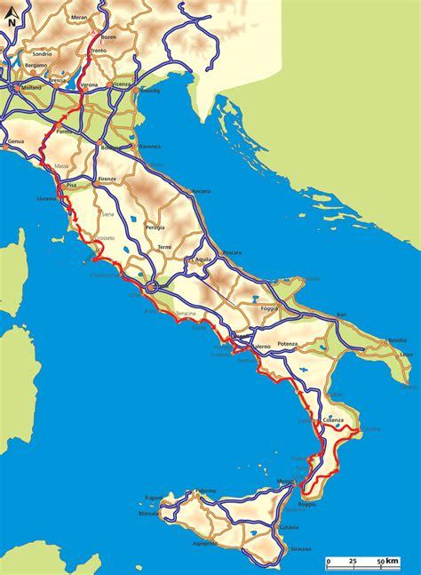 Motorradtour Nach Italien by Motorradtour Kalabrien Kalabrien Europas Wilder S 252 Den