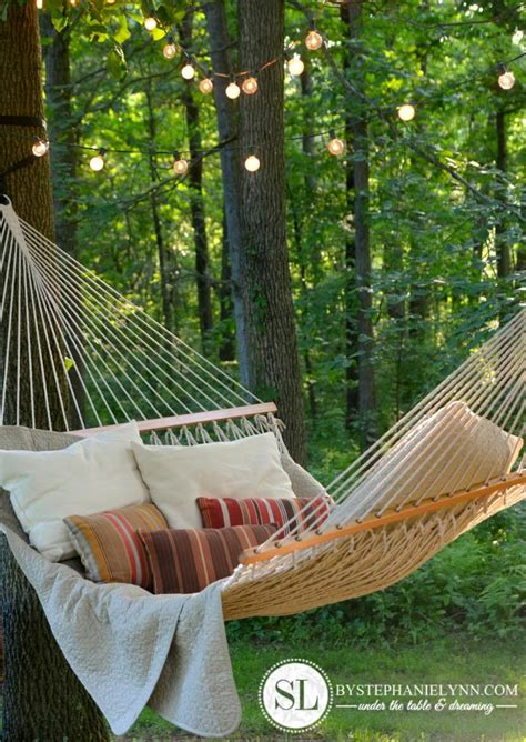 Hammock Ideas Backyard by 15 Ideas For Kid Friendly Backyards 24 7
