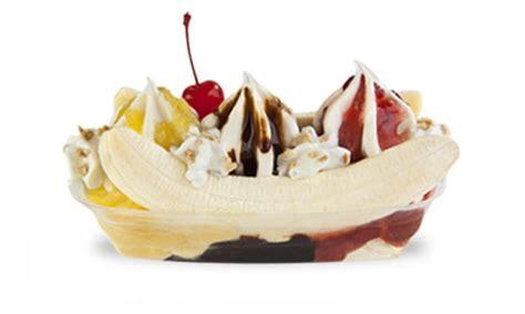 banana boat ice cream menu soft serve cones