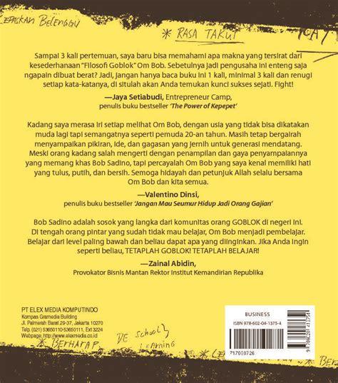 Belajar Goblok Dari Bob Sadino jual buku belajar goblok dari bob sadino edisi baru yang