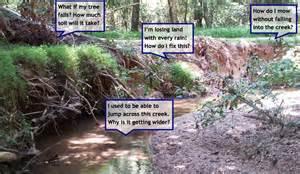 slip sliding away wnc creek banks imperiled by erosion