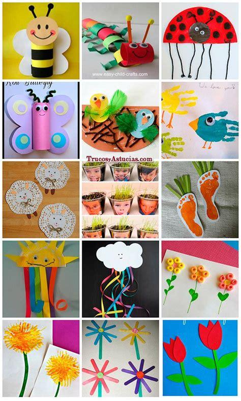 imagenes manualidades navideñas para niños 48 manualidades de primavera para ni 195 177 os y adultos