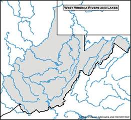 Map Of Virginia Rivers by Blank Map Of Virginia Rivers