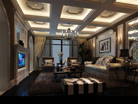 Living Room 3d Model by Luxury Living Room 3d Model Max Cgtrader