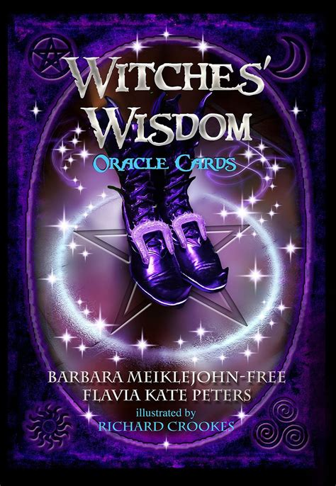 witches wisdom oracle cards 099555160x witches wisdom oracle cards guidebook 48 tarot nemesis now wiccan pagan ebay