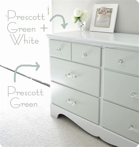 Paint A Dresser White by Two Tone Treasure How To Paint Furniture Centsational