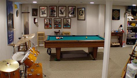 Basement Game Room Ideas & Designs   Total Basement Finishing