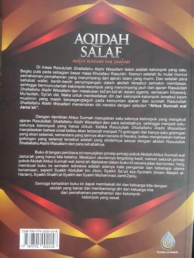 Aqidah Syari buku aqidah salaf ahlus sunnah wal jama ah toko muslim title
