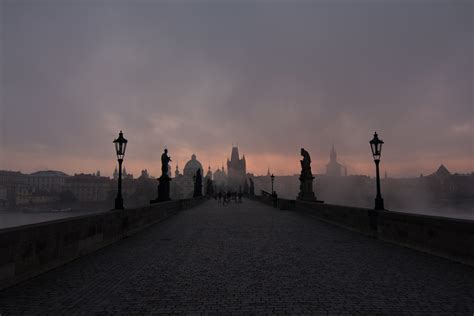 the time of darkness on wacom gallery le pont charles de prague