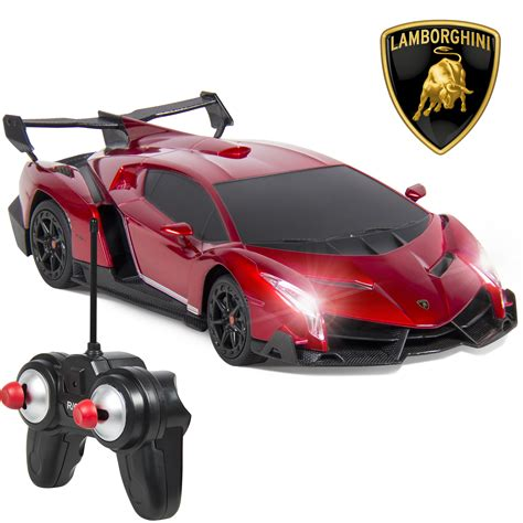 Rc Races Lamborgini Imitation 1 24 officially licensed rc lamborghini veneno sport racing car w 27mhz ebay