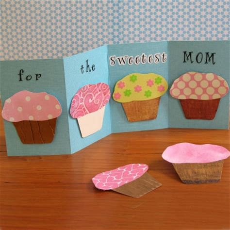 s day cupcake card template cupcake magnet card disney family