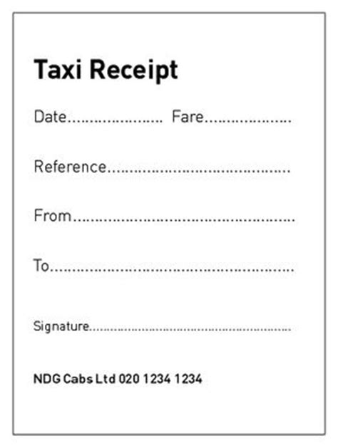nyc taxi receipt template 1000 images about receipts on details about
