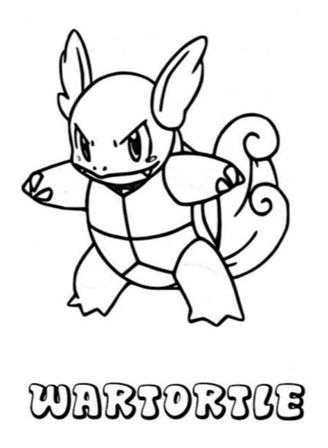 pokemon coloring pages wartortle wartortle pokemon coloring page coloring book