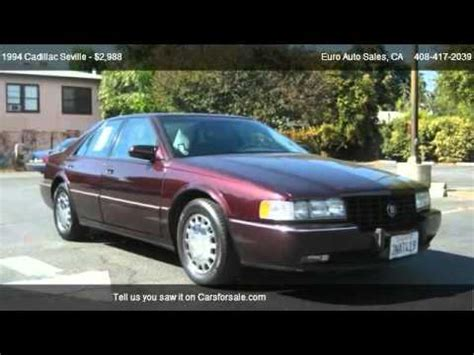 2012 Cadillac Sts For Sale by 1994 Cadillac Seville Sts For Sale In San Jose Ca 95128