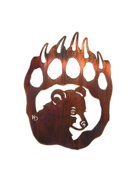 bear paw silhouette    clipartmag