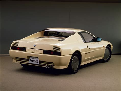 cars com nissan mid4 concept 1985 old concept cars