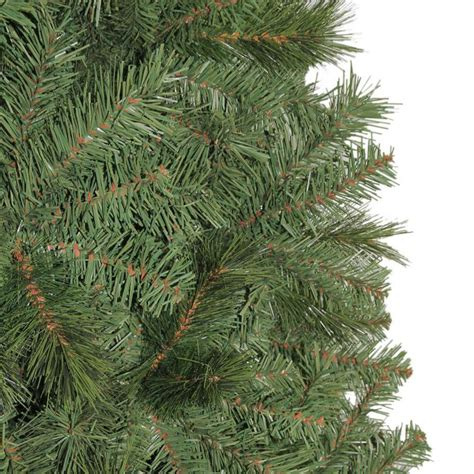 home accents 7 5 ft unlit wesley mixed spruce artificial tree tg76m5304x00
