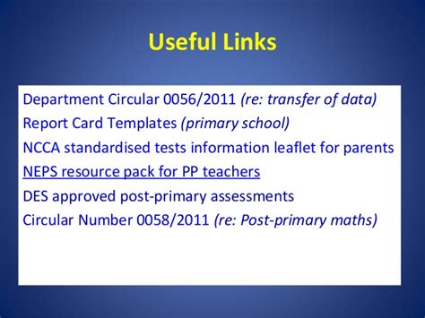 ncca report card templates introduction to sse 2011