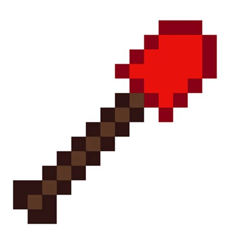 Minecraft How To Craft A Redstone L by Minecraft Redstone Shovel L By Dragonshadow3 On Deviantart