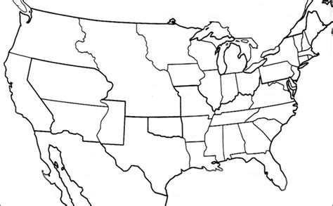 us map outline pdf antemno raine blank map of us