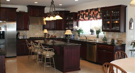 Dark Kitchen Cabinets With Black Appliances kitchens 171 new homes of hunterdon county new jersey by