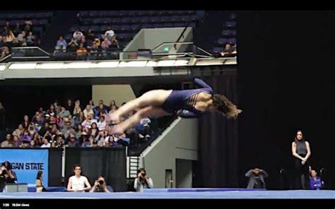 katelyn ohashi news anorak news gymnastics ucla s katelyn ohashi scores a