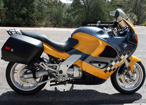 Bmw Motorcycle Yellow by 2001 Bmw K1200 Rs Graphite Metalic Yellow 4 Cylinder