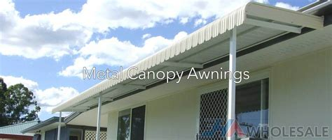 Wholesale Awnings by Fixed Canopy Metal Awnings Fha Wholesale