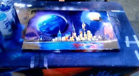 spray paint nyc painting artist in new york city part 2 spray