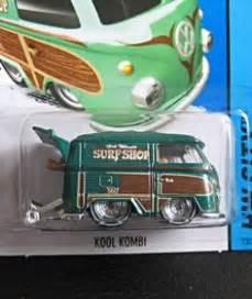 Hotwheels Vw Volkswagen Kool Kombi 2014 Hijau quot kool kombi quot from 2015 wheels surf patrol series
